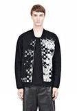 ALEXANDER WANG FINE GAUGE JACQUARD BOMBER JACKETS AND OUTERWEAR  Adult 8_n_a