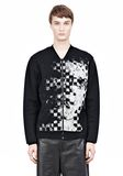 ALEXANDER WANG FINE GAUGE JACQUARD BOMBER JACKETS AND OUTERWEAR  Adult 8_n_e