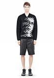 ALEXANDER WANG FINE GAUGE JACQUARD BOMBER JACKETS AND OUTERWEAR  Adult 8_n_f