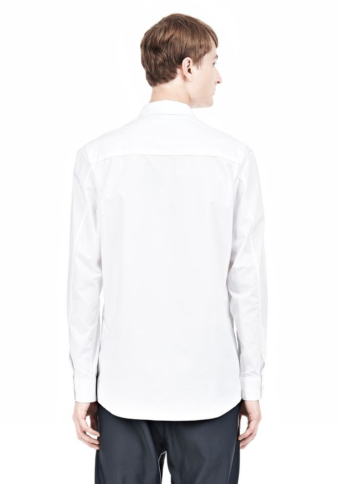 ALEXANDER WANG MULTI SEAM LONG SLEEVE BUTTON DOWN SHIRT Shirt/del Adult 12_n_d