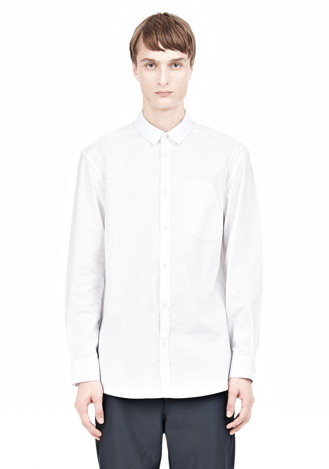 ALEXANDER WANG MULTI SEAM LONG SLEEVE BUTTON DOWN SHIRT Shirt/del Adult 12_n_e