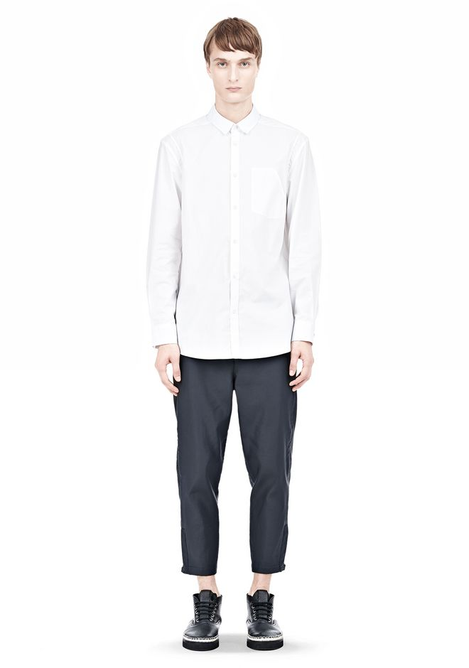 ALEXANDER WANG MULTI SEAM LONG SLEEVE BUTTON DOWN SHIRT Shirt/del Adult 12_n_f