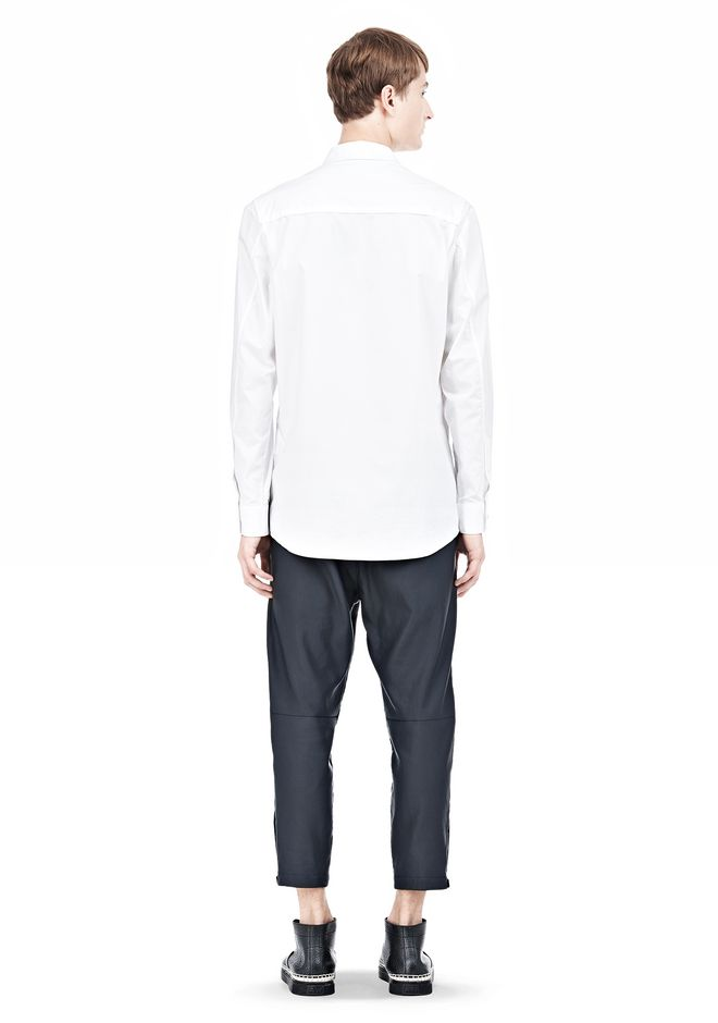 ALEXANDER WANG MULTI SEAM LONG SLEEVE BUTTON DOWN SHIRT Shirt/del Adult 12_n_r