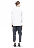 ALEXANDER WANG MULTI SEAM LONG SLEEVE BUTTON DOWN SHIRT Shirt/del Adult 8_n_r