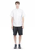 ALEXANDER WANG SHORT SLEEVE BUTTON DOWNSHIRT WITH INSET POCKET Short sleeve shirt Adult 8_n_f