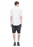 ALEXANDER WANG SHORT SLEEVE BUTTON DOWNSHIRT WITH INSET POCKET Short sleeve shirt Adult 8_n_r