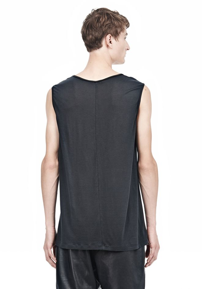 ALEXANDER WANG MUSCLE TANK TOP Adult 12_n_d