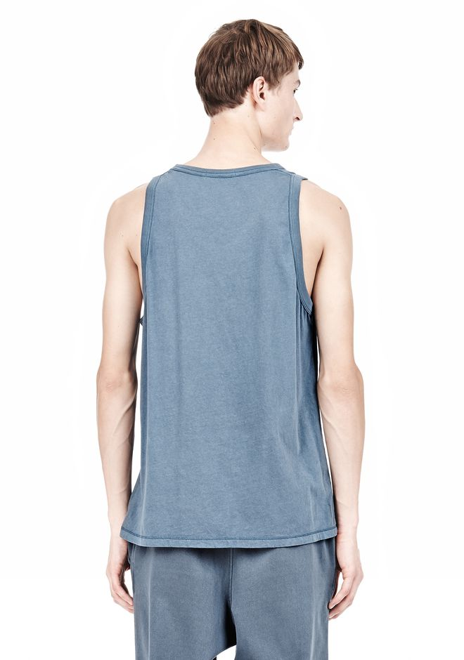 T by ALEXANDER WANG CLASSIC TANK WITH POCKET TEE Adult 12_n_d