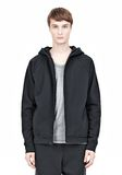 T by ALEXANDER WANG VINTAGE FLEECE ZIP UP HOODIE HOODIE Adult 8_n_a