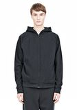 T by ALEXANDER WANG VINTAGE FLEECE ZIP UP HOODIE HOODIE Adult 8_n_e