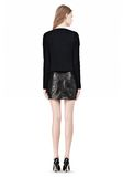 T by ALEXANDER WANG COTTON RIB KNIT BOATNECK PULLOVER Crewneck Adult 8_n_r