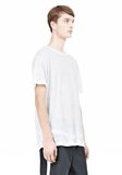 T by ALEXANDER WANG LINEN SILK SHORT SLEEVE TEE Short sleeve t-shirt Adult 8_n_a