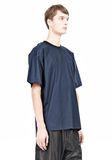 T by ALEXANDER WANG COTTON POPLIN SHORT SLEEVE TEE Short sleeve t-shirt Adult 8_n_a
