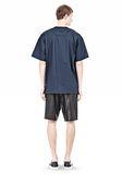 T by ALEXANDER WANG COTTON POPLIN SHORT SLEEVE TEE Short sleeve t-shirt Adult 8_n_r