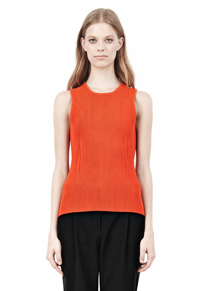 ALEXANDER WANG TUBULAR STRIPE TANK TOP Adult 12_n_e