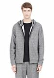 T by ALEXANDER WANG SPECKLED FRENCH TERRY HOODIE HOODIE Adult 8_n_a