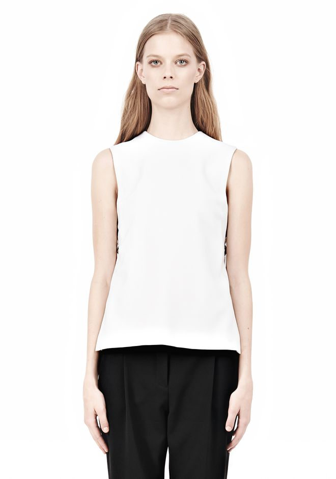 ALEXANDER WANG CREWNECK MUSCLE TANK TOP Adult 12_n_e