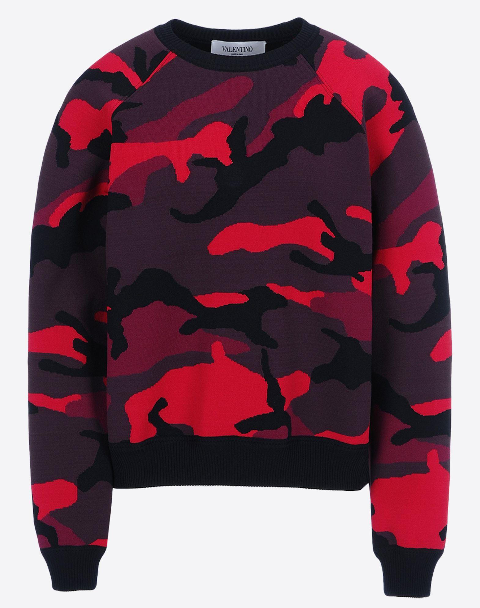 VALENTINO HBK908SF-VM1643B A13 Knitwear, shirts and tops D d