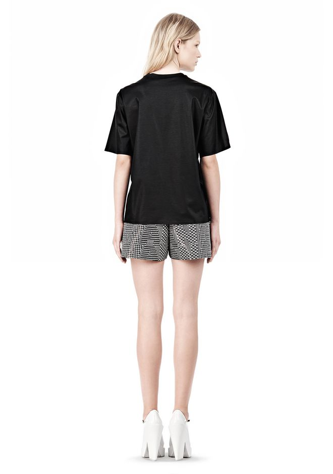 ALEXANDER WANG PARENTAL ADVISORY CREWNECK T-SHIRT Short sleeve t-shirt Adult 12_n_r
