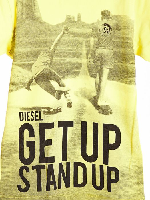 DIESEL TIXOY SLIM T-shirt & Top U a