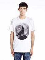 DIESEL T-WOLF Camiseta U f