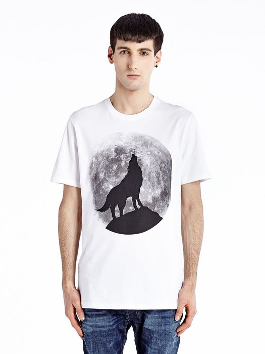 DIESEL T-WOLF T-Shirt U f