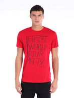DIESEL T-BARN Camiseta U f