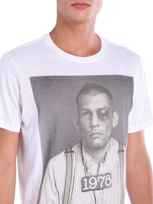 DIESEL T-ECKART T-Shirt U a