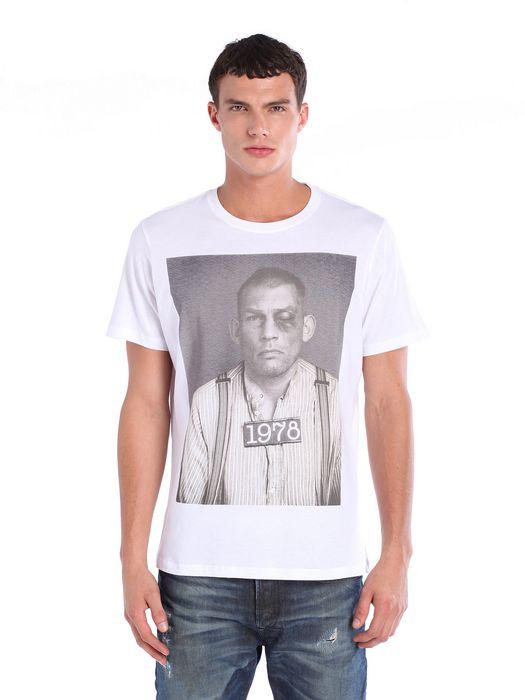 DIESEL T-ECKART T-Shirt U f