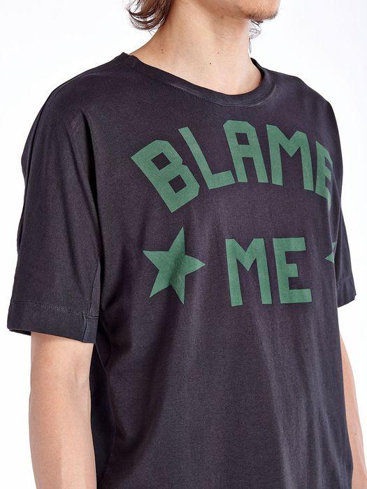 DIESEL BLACK GOLD TANOIA-BLAMEME T-Shirt U a