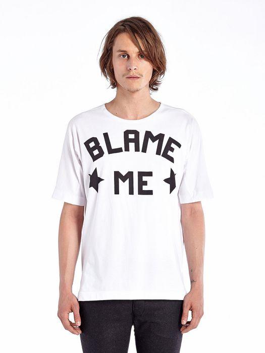 DIESEL BLACK GOLD TANOIA-BLAMEME T-Shirt U f