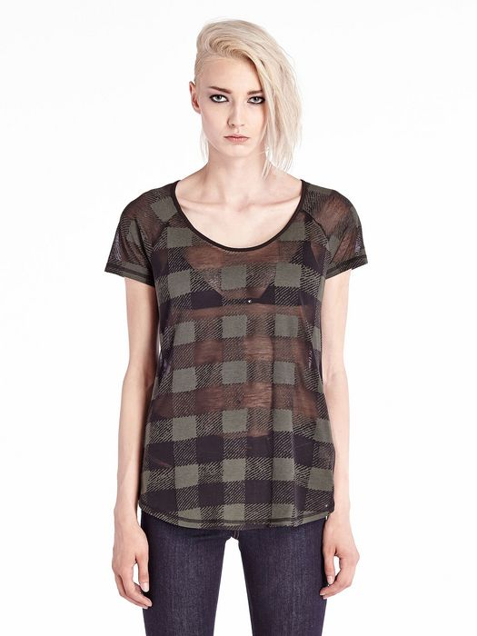 DIESEL T-VELOC-C T-Shirt D f