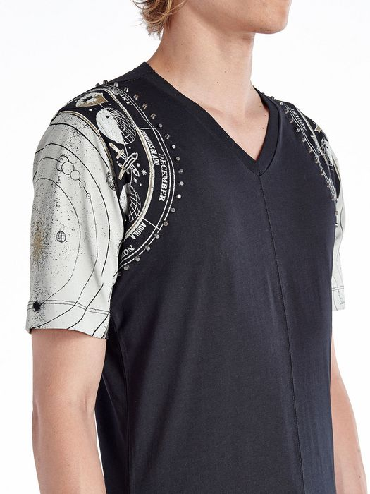 DIESEL BLACK GOLD TIRITTO-METAZODIAC T-Shirt U a