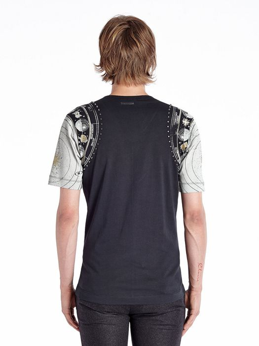 DIESEL BLACK GOLD TIRITTO-METAZODIAC T-Shirt U e