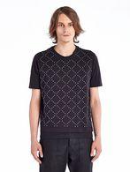 DIESEL BLACK GOLD TUTTASTUDS T-Shirt U f