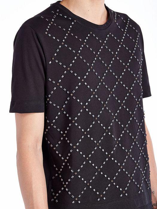 DIESEL BLACK GOLD TUTTASTUDS T-Shirt U a