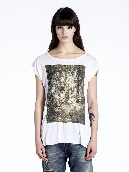 DIESEL T-ALE-T T-Shirt D f
