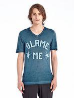 DIESEL BLACK GOLD TAICIY-BLAMEME-LF T-Shirt U f