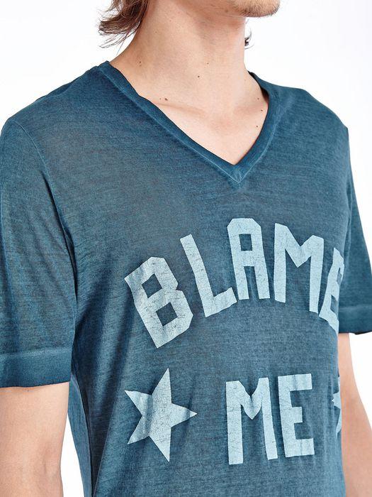 DIESEL BLACK GOLD TAICIY-BLAMEME-LF T-Shirt U a