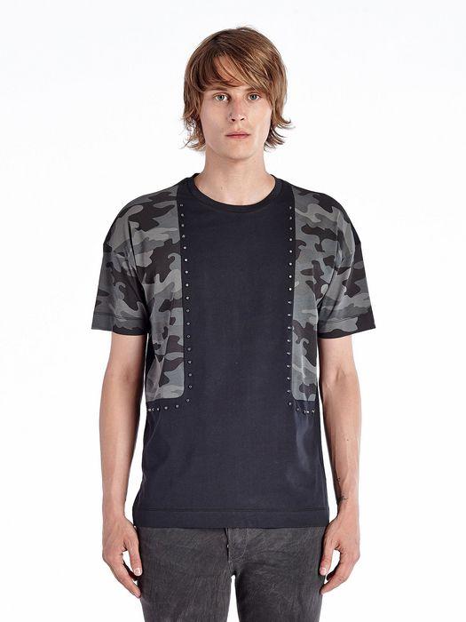 DIESEL BLACK GOLD TIGROS-CAMOMETAZOD-L T-Shirt U f