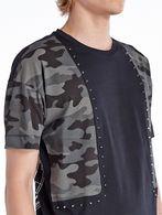 DIESEL BLACK GOLD TIGROS-CAMOMETAZOD-L T-Shirt U a
