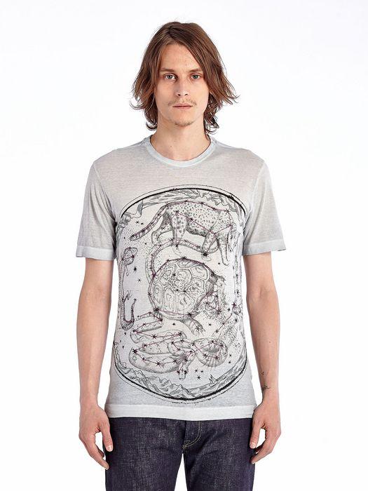 DIESEL BLACK GOLD TORICIY-CONSTELMAP-L T-Shirt U f