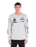 DIESEL T-P-LONG Camiseta U f