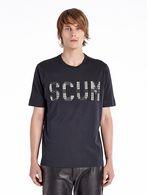 DIESEL BLACK GOLD TIBO-SCUM-LF T-Shirt U f