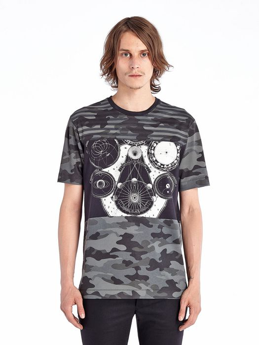 DIESEL BLACK GOLD TORICIY-MIX-LF T-Shirt U f