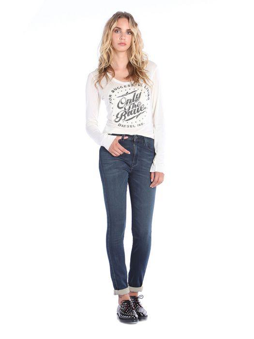 DIESEL T-MANGA-LS-A T-Shirt D r