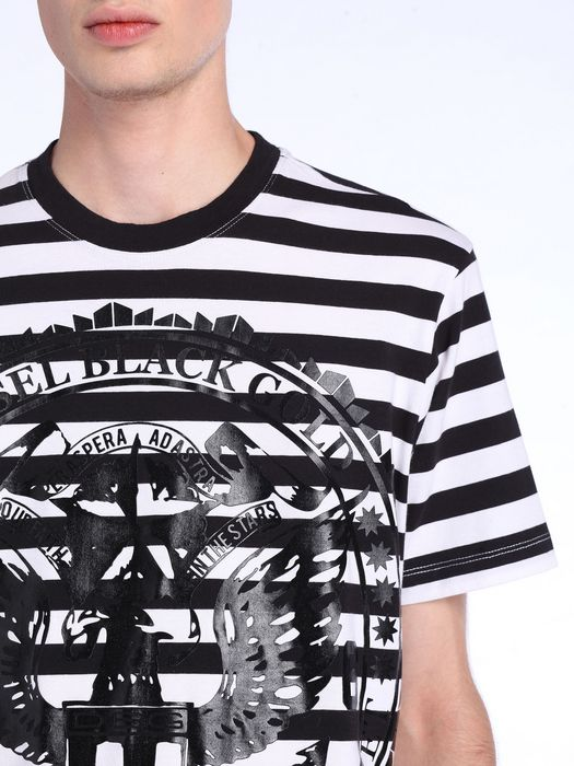 DIESEL BLACK GOLD TEORIA-CREST T-Shirt U a