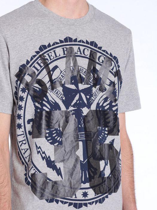 DIESEL BLACK GOLD TEORIA-INSINIABLAME T-Shirt U a