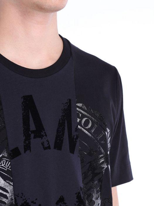 DIESEL BLACK GOLD TEORIA-SIDES-CREST36 T-Shirt U a