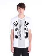 DIESEL BLACK GOLD TEORIA-CUT-36CREST T-Shirt U f
